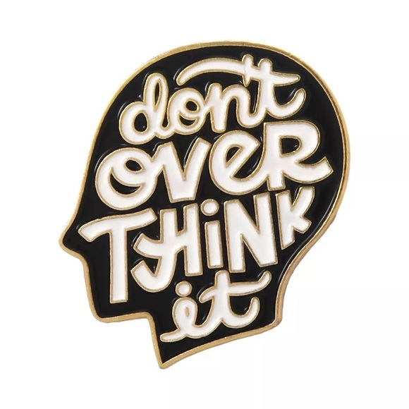 fancy fashions Accessories - Don't over think it pin brooch